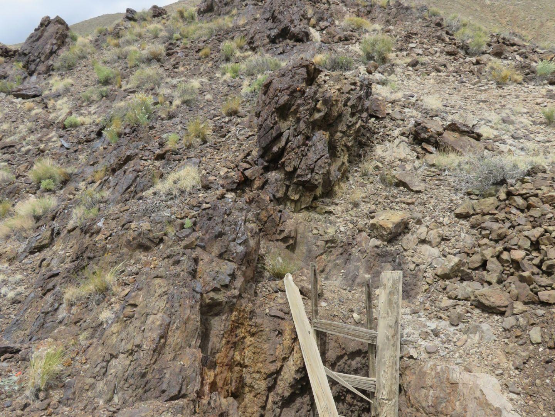Paymaster - Valley Historic Deep Shaft in Skarn