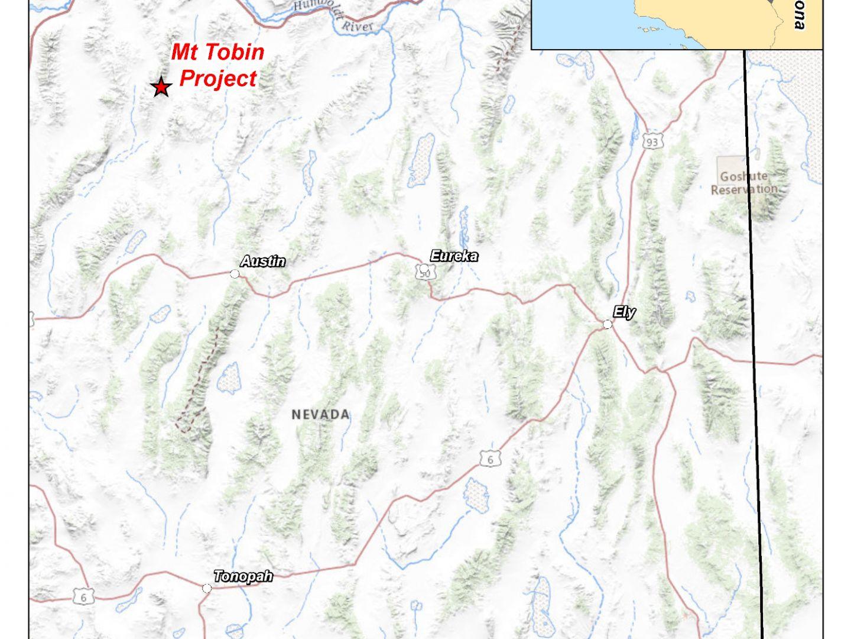 Mt Tobin - Regional Map